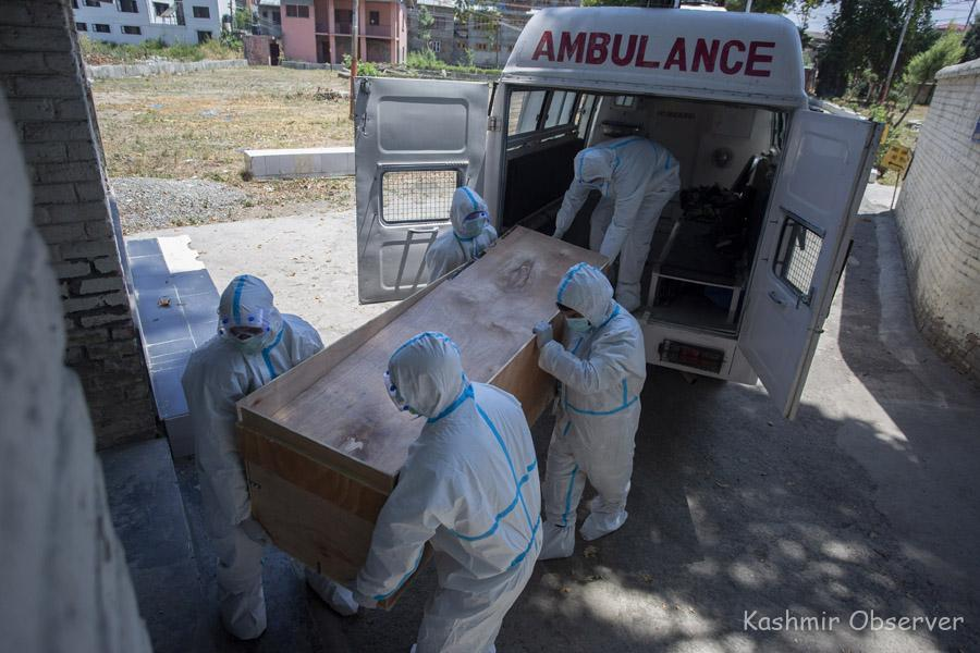 J&K Reports 63 More Covid-19 Deaths, 3677 New Cases